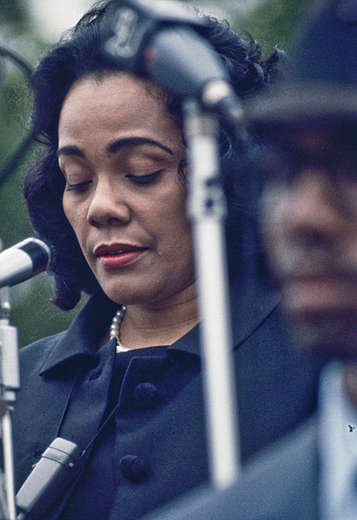 Coretta King '69 - NYC : Photojournalism & Documentary : Clayton Price Photographer