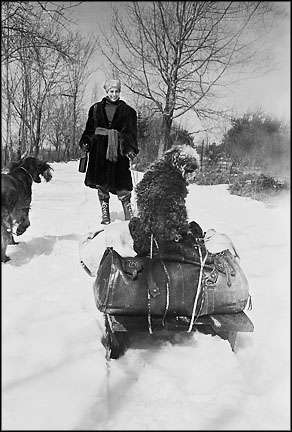 Reminder of Dr. Zhivago - almost! : Life in the 50's, 60's, 70's : Clayton Price Photographer